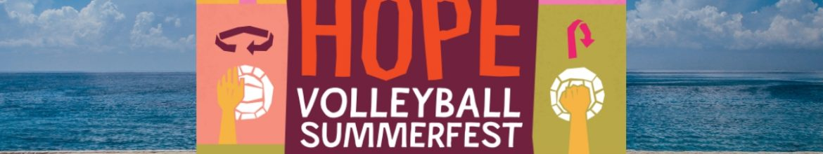 HOPE Volleyball this Saturday!