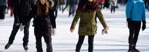 The Rideau Canal is Open to Skaters Today