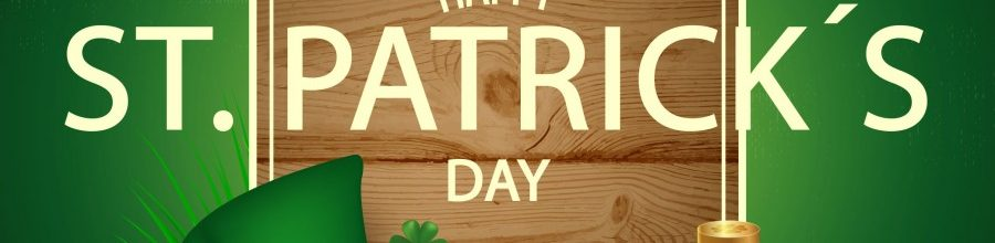 Tomorrow is St. Patrick's Day!