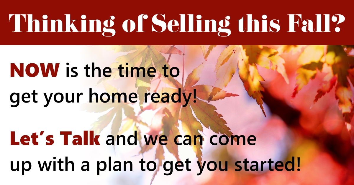 Thinking of Selling - Fall